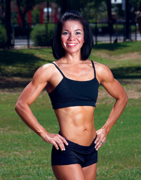 Airman's wife journey: from 'broken' body to body builder