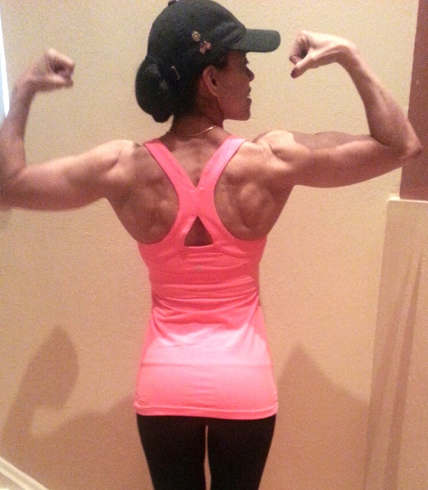 This is what a bazillion pull ups has helped create!