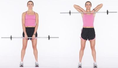 Standing Dumbbell Rows