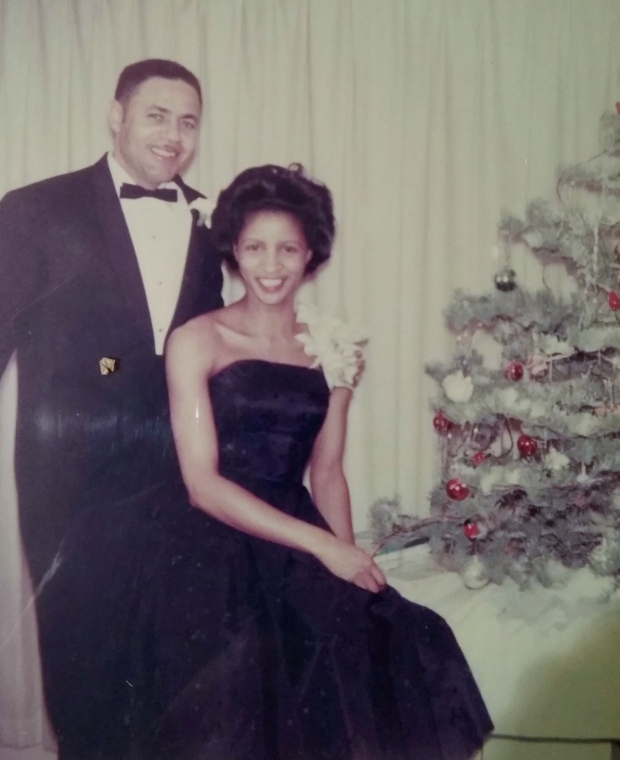 My beautiful mom...and dad too