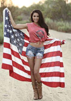 American hotgirl