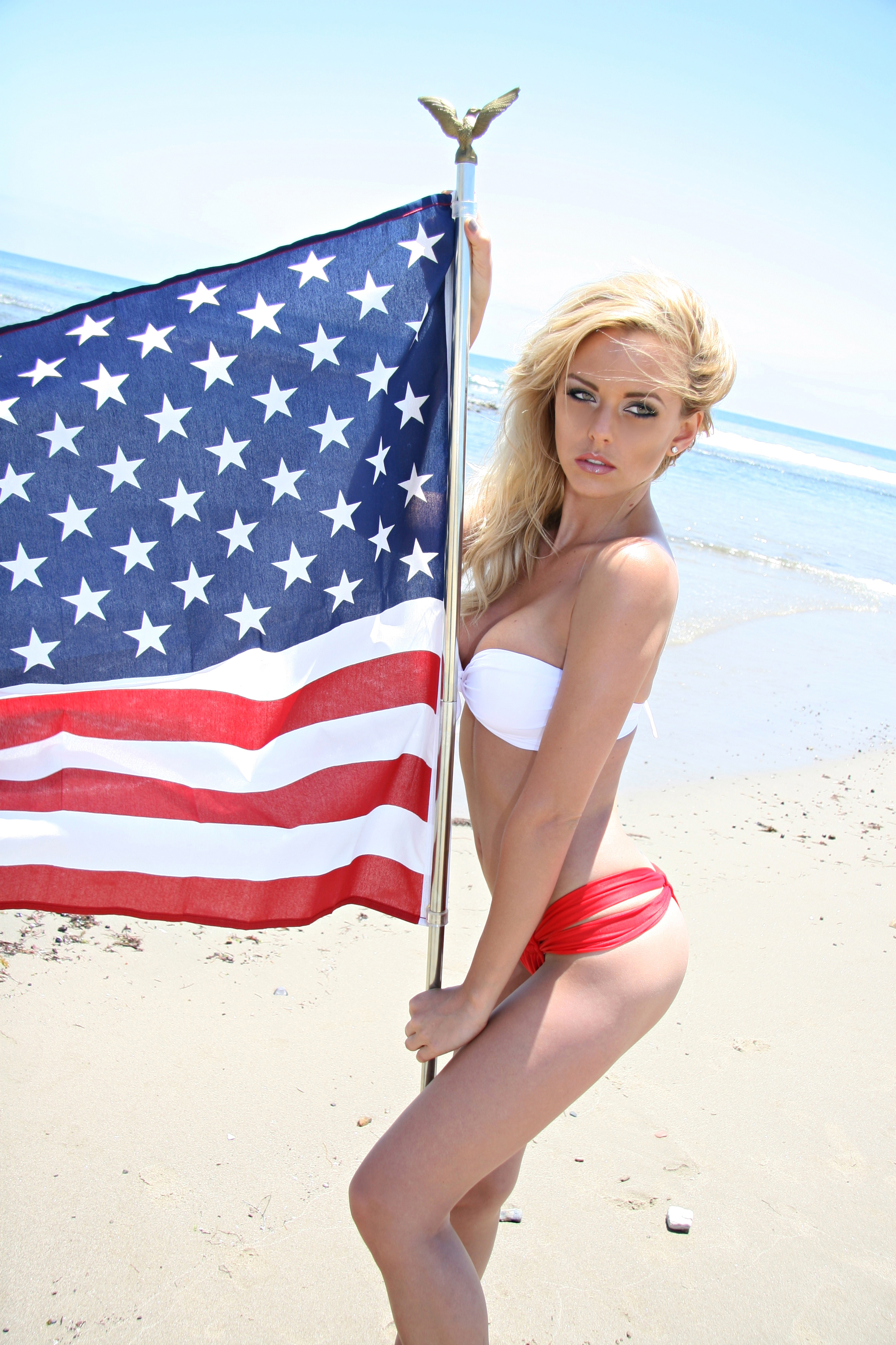 from Gregory patriotic nude girls bikini