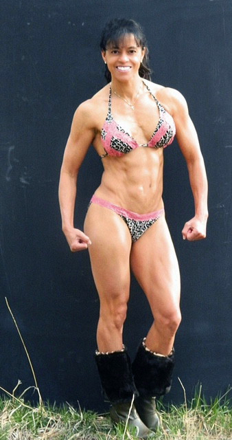 Funny muscle pose!