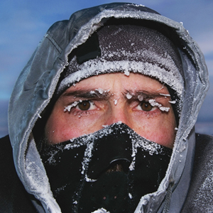Everybody knows your body uses up more calories when it has to work to stay warm!