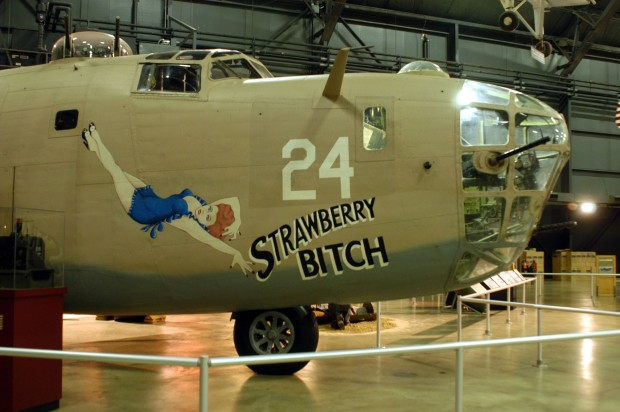 Consolidated B-24D Nose Art