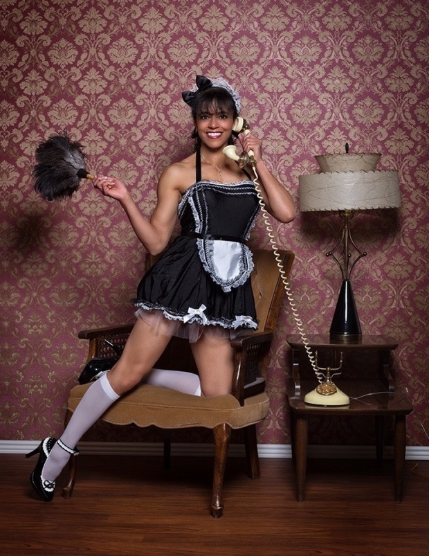 bad-maid-talking-on-phone
